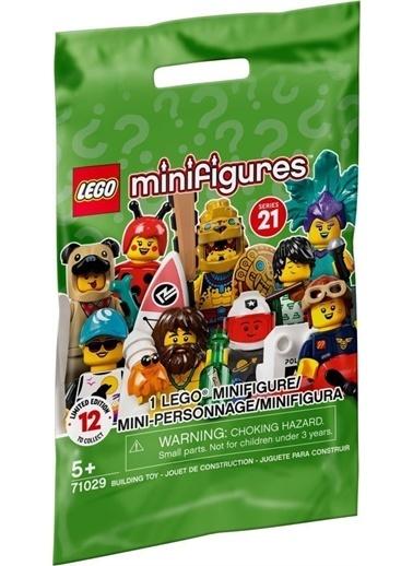 Lego Lego Minifigür - Seri 21 - 71029 - Sşace Şolice Guy Renkli